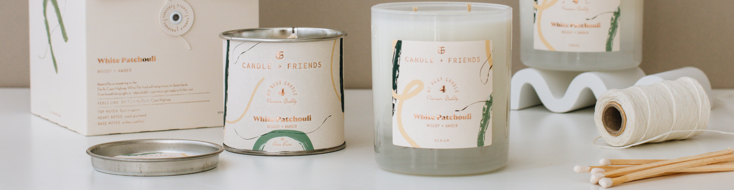 Candle and Friends