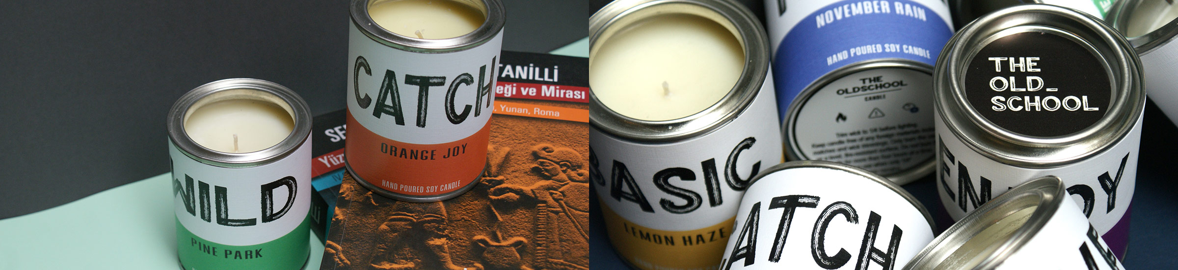 The Old School Candle