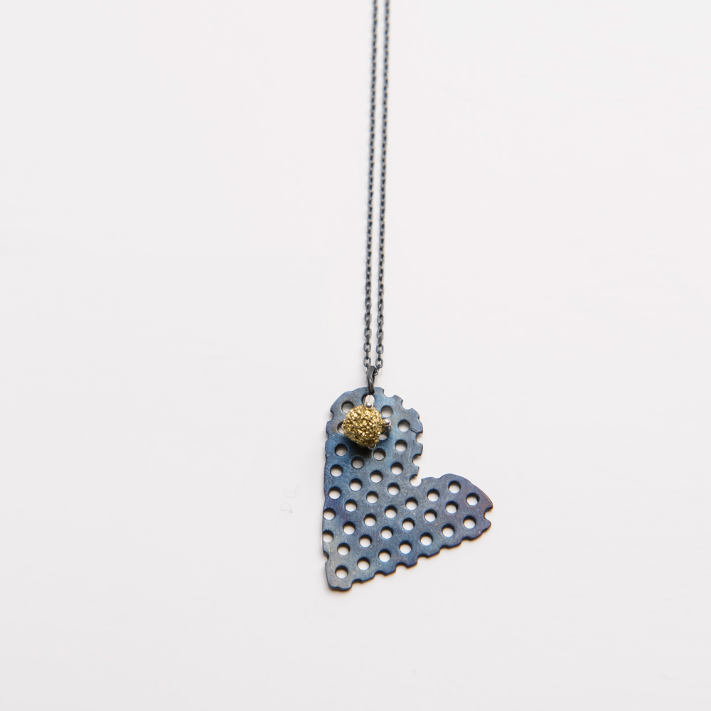 Burcu Sülek - Emptiness Love Pendant Necklace