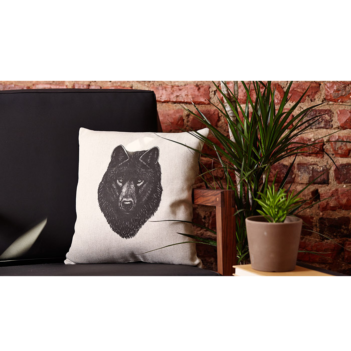 Nice to Have - Gray Wolf Pillow