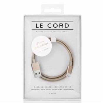 Le Cord - Solid Gold - 1 Meter