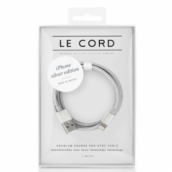 Le Cord - Solid Silver - 1 Meter