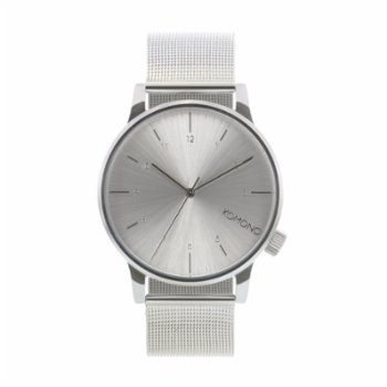 Komono - Winston Royale Silver Watch
