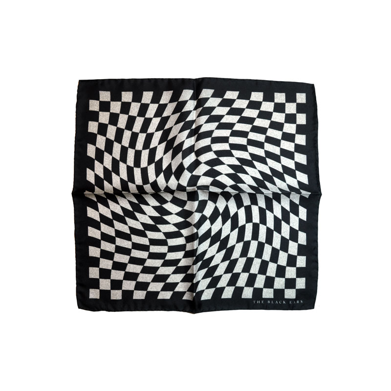 The Black Ears - The Finish Point Pocket Square