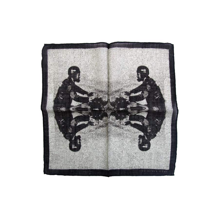 The Black Ears - The Gentleman Rider Pocket Square