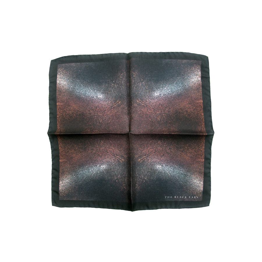 The Black Ears - The Rusted Rusty Pocket Square