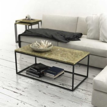 Marmore - Rectangular Side Table