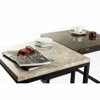 Marmore - Small Square Side Table