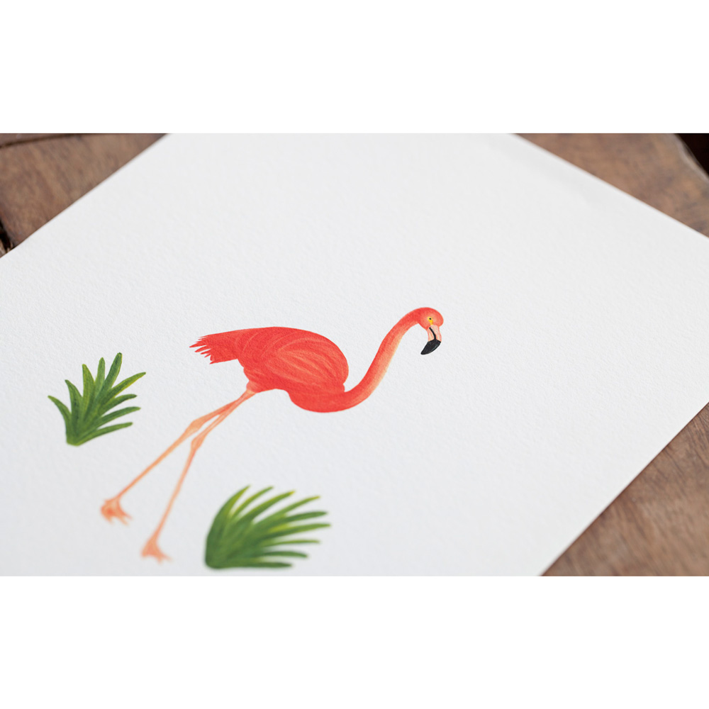 Nice to Have - Giclee Poster: Flamingo
