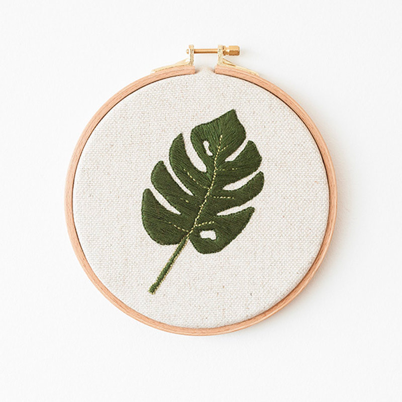 Nice to Have - Needlework -  Monstera Frame