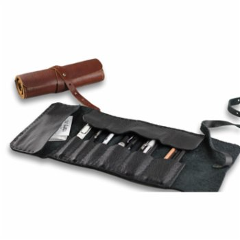 Tox Leather - Roll-Up Pencil Case