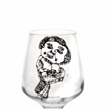 Remo - Wanna Be A Little Mermaid Glass - I