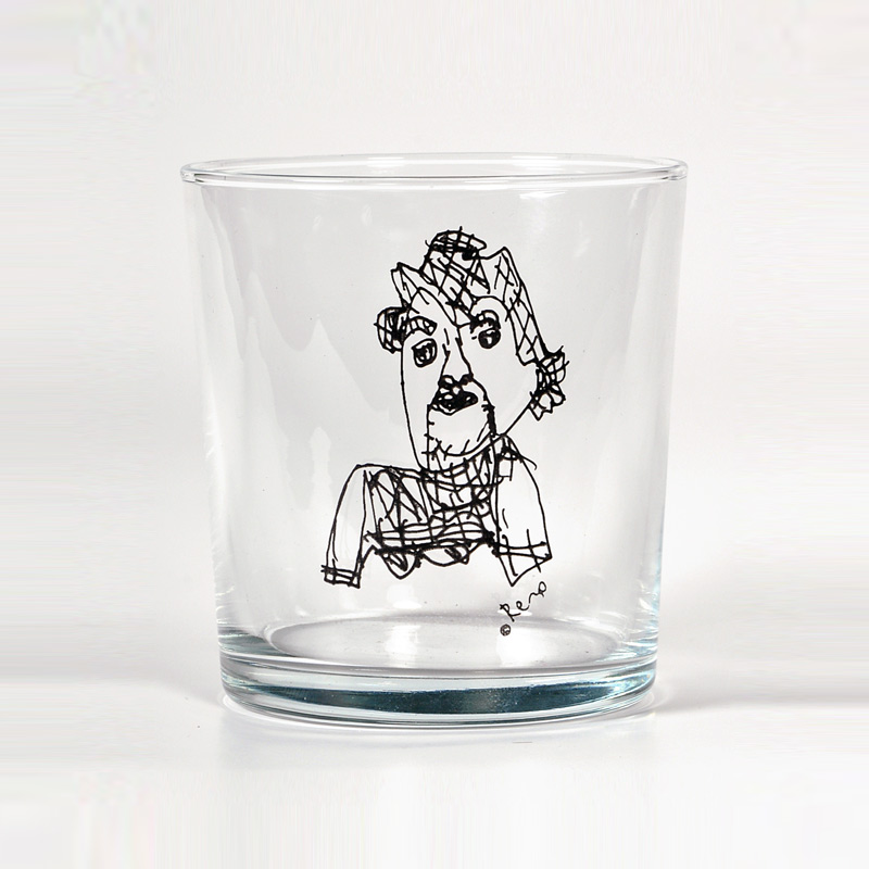 Remo - Thinks Like a Philosopher Glass