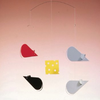 Flensted Mobiles - Cheese & Mice Mobil