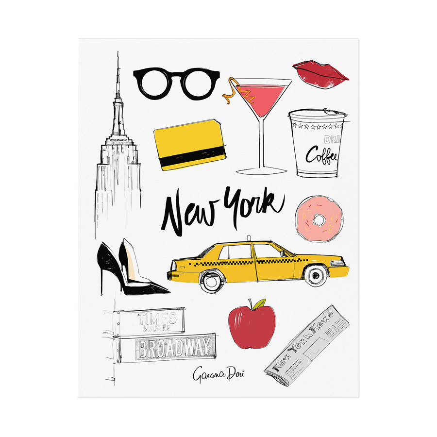 Rifle Paper Co. - New York Poster