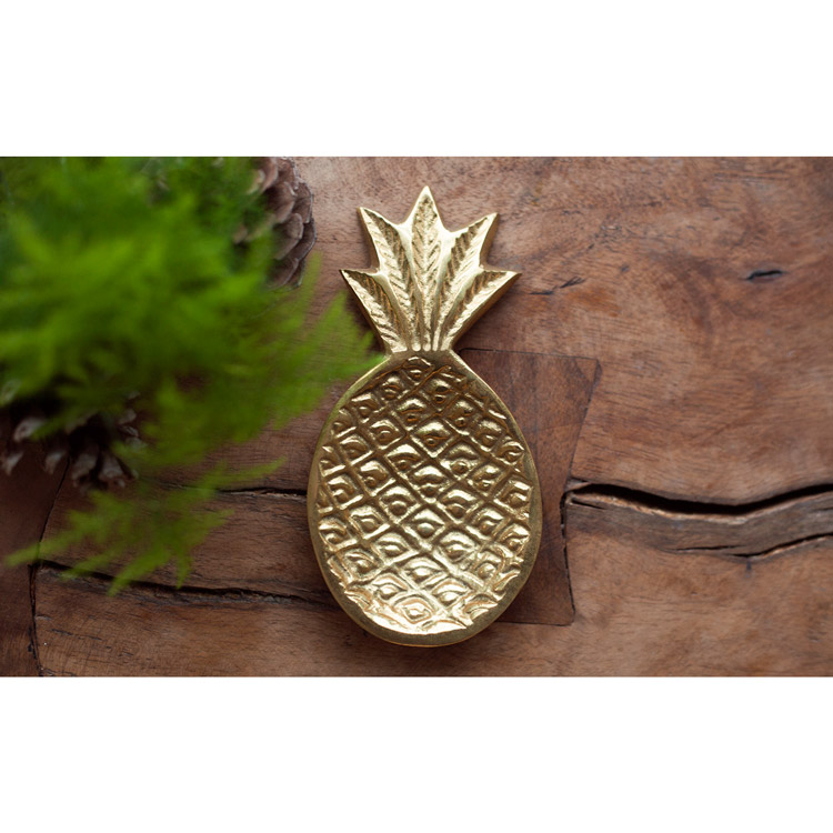 Nice to Have - Brass Pineapple Dish