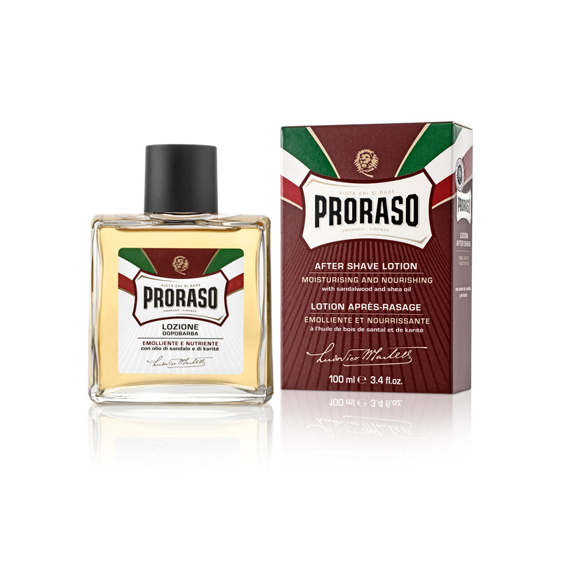 Proraso - Proraso After Shave Lotion Nourish Sandalwood RED