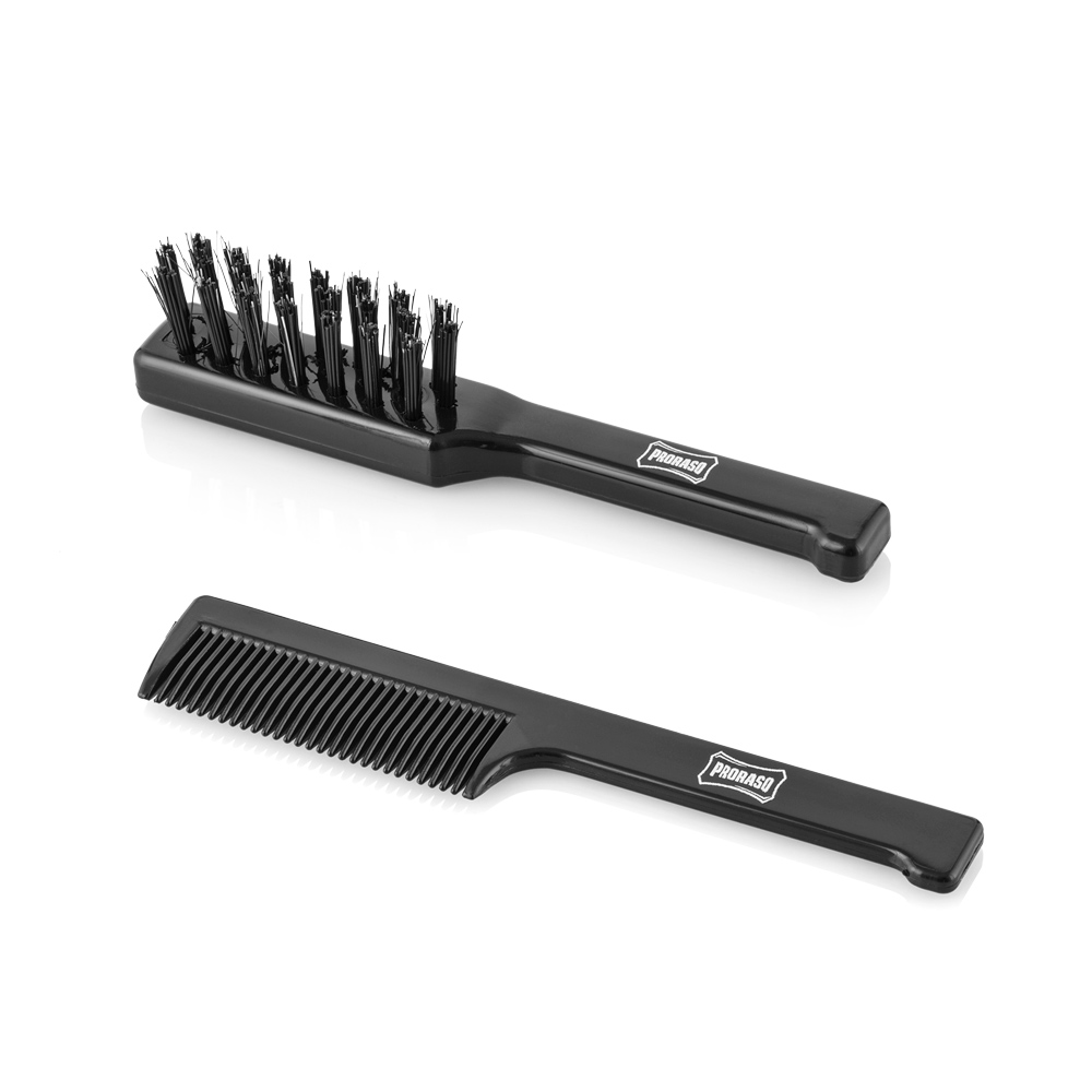 Proraso - Proraso Old Style Moustache Comb and Brush