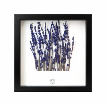 Save The Flowers - Lavander Garden Frame