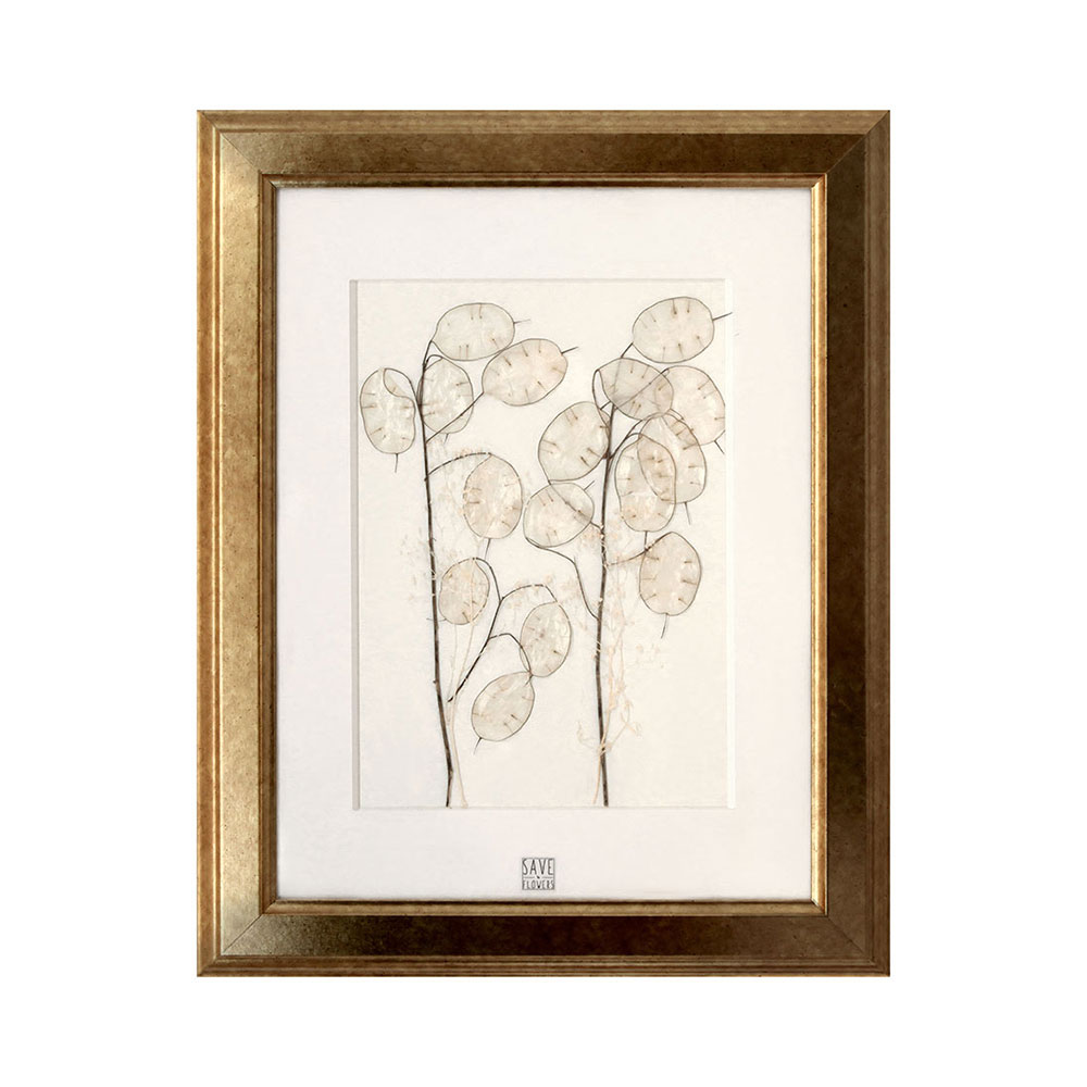 Save The Flowers - Gold 4 Frame