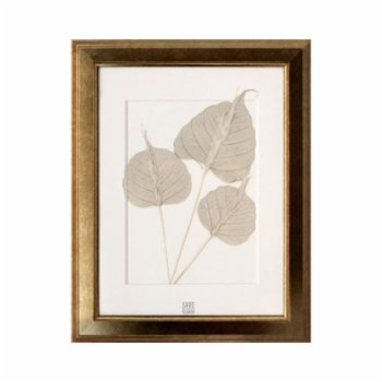 Save The Flowers - Gold 3 Frame