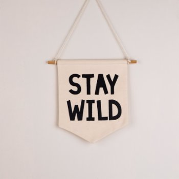 Figg - Stay Wild Pennant Flag