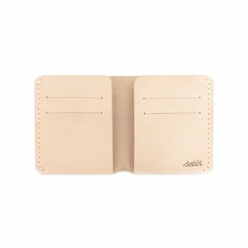 Sakin Leather - Minimal Bi-Fold Wallet