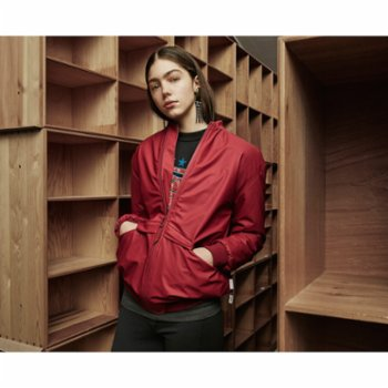 Rains - B15 Jacket Raincoat - Scarlet