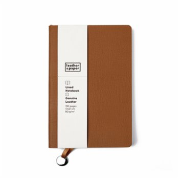 Leather & Paper - Leather  Lined  Notebook