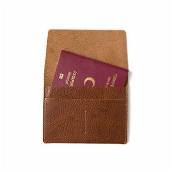 Leather & Paper - Leather Passport Case