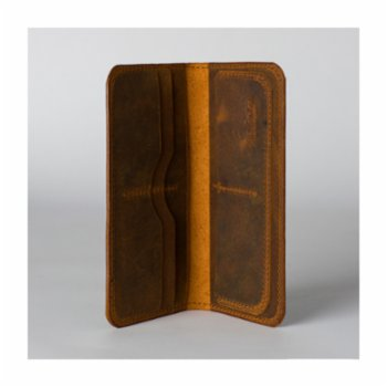 Tox Leather - Distressed Long Wallet
