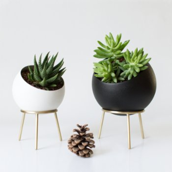 Kitbox Design - Globe Planter - 2Set
