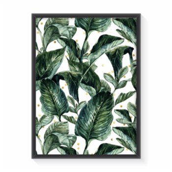 Normmade - Green Leaves Poster