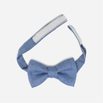 Moris - Blue Dots  Kids Bow Tie