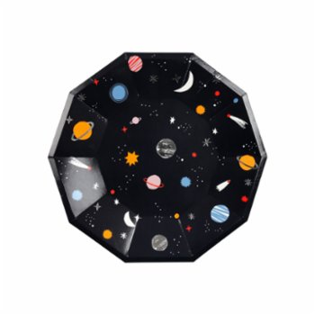 Meri Meri - Space Plate Pack of 8