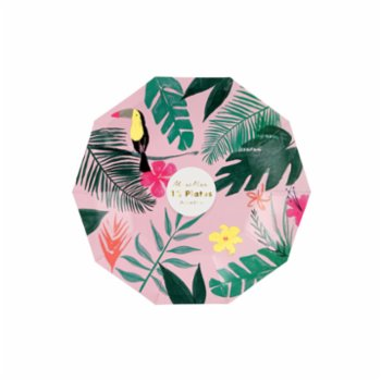 Meri Meri - Torpical Plate Pack of 12