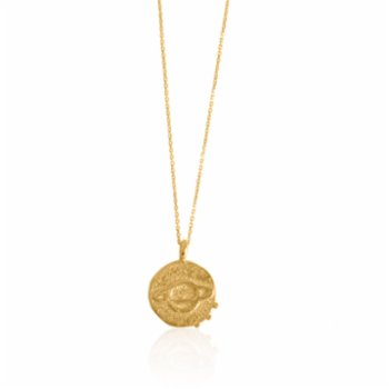 Besign - Saturn Coin Necklace