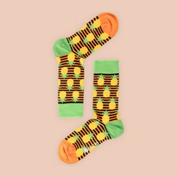 One Two Sock - Pineapple Socks