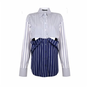 The Jacquelyns - Tj Two-In-One Shirt - V