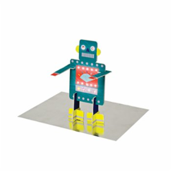 Meri Meri - Happy Birthday Robot Card