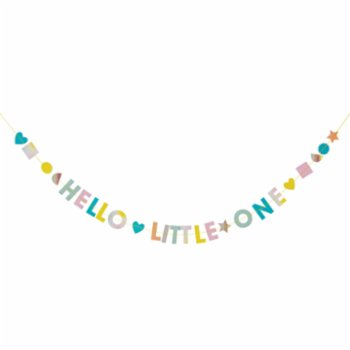 Meri Meri - Hello Litlle One Garland Card
