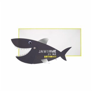 Meri Meri - Shark Greeting Card