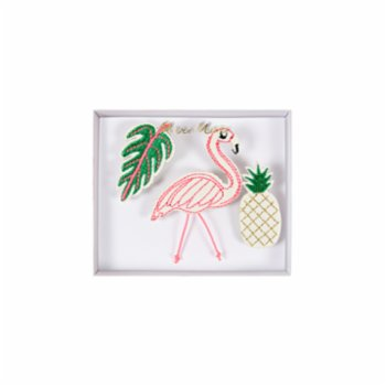 Meri Meri - Tropical Brooches