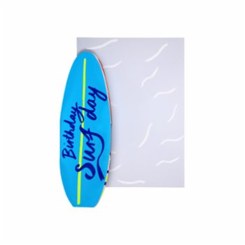 Meri Meri - Birthday Surfday Card
