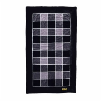 Sunday Funday - Plaid Men Men Beach Towel