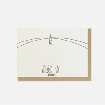 Paper Street Co. - Missed You Card