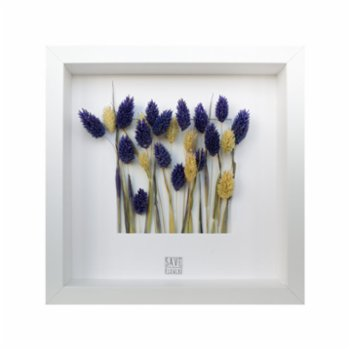 Save The Flowers - Square 21 Frame