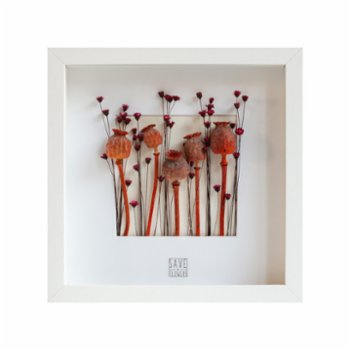 Save The Flowers - Square 27 Frame