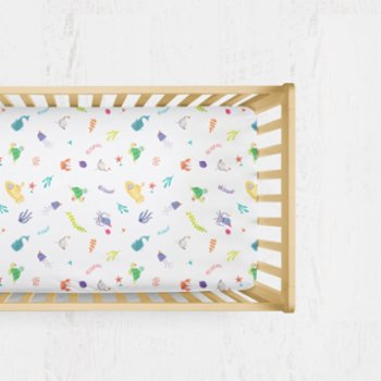 Happy Folks - Ocean Big Party  Fitted Sheet