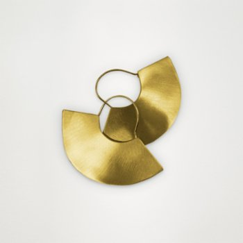Unadorned Jewelry Design - The Fan Earrings